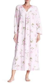 Carole Hochman 3/4 Length Sleeve Printed Night Gown