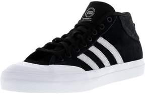 adidas Men's Matchcourt Mid Adv Core Black / Light Solid Grey Ftw White Ankle-High Skateboarding Shoe - 9M