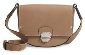Ghurka Marlow Leather Shoulder Bag - Beige