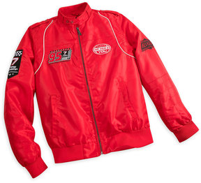 Disney Lightning McQueen Members Only Jacket for Men - Red