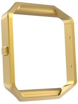 Fitbit Mignova Mingnova Blaze Accessory Frame, Stainless Steel Replacement Metal Frame For Blaze Smart Watch (Gold)