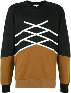 Les Benjamins two tone sweatshirt