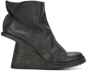 Guidi baby wedge boots