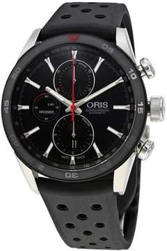 Oris Artix GT Black Dial Automatic Men's Chronograph Rubber Watch