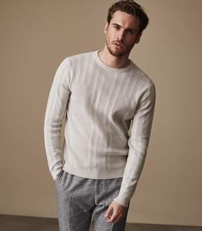 Reiss GRANVILLE Textured jumper