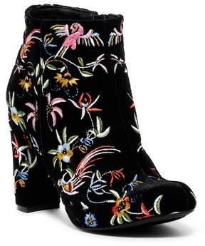 Liliana Kenzy Embroidered Bootie