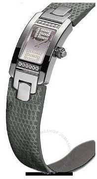 Audemars Piguet Promesse Diamond White Gold Grey Leather Ladies Watch