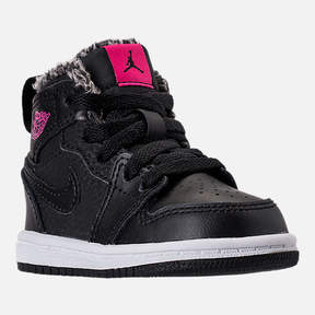 Nike Girls' Toddler Jordan Retro 1 High Basketball Shoes