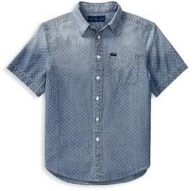 Ralph Lauren Little Boy's& Boy's Chambray Collared Shirt