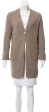 Bruno Manetti Cashmere Long Sleeve Cardigan