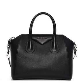 Givenchy Antigona Tote Sugar Goatskin Small Black