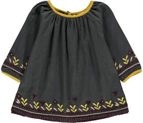Caramel Baby Lydford Embroidered Dress