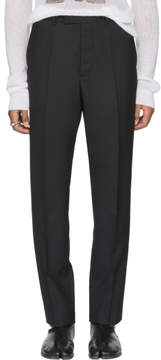 Maison Margiela Black Suit Trousers