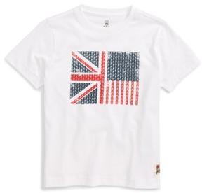 Psycho Bunny Boy's Flag Graphic T-Shirt