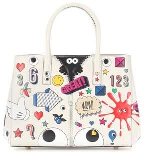 Anya Hindmarch Ebury Small II All Over Wink handbag
