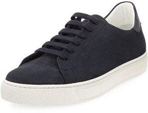 Anya Hindmarch Wink Nubuck Leather Tennis Sneaker, Blue