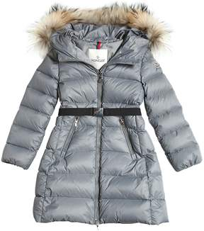 Moncler Dorist Nylon Long Down Coat