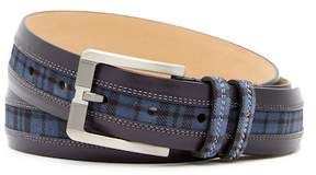 Mezlan Diver Parma Plaid Belt