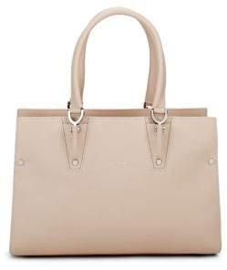 Longchamp Paris Premiere Leather Handbag - IVORY - STYLE