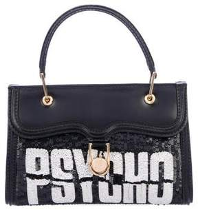 Olympia Le-Tan Mini Embellished Leather Pyscho Bag