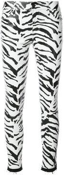 RtA zebra print leggings