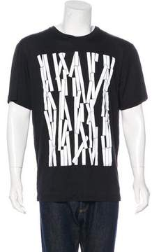 Christopher Kane Graphic Crew Neck T-Shirt w/ Tags