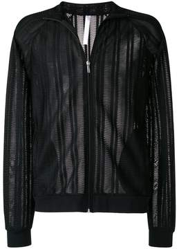 Cottweiler sheer panel zipped sport jacket