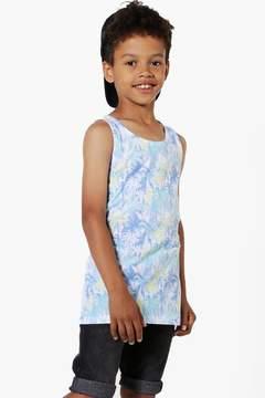 boohoo Boys All Over Palm Print Vest