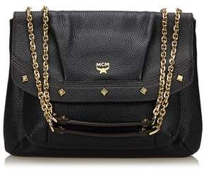 MCM Pre-owned: Leather Chain Shoulder Bag.