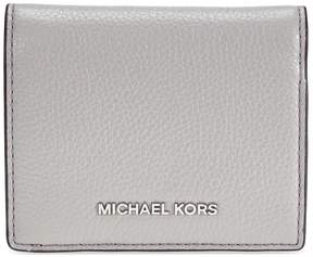 Michael Kors Mercer Flap Card Holder - Pearl Grey - ONE COLOR - STYLE