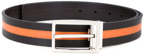 Cerruti stripe panel belt