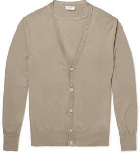 Boglioli Knitted Cotton Cardigan