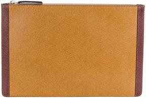 Marni dual colour clutch bag