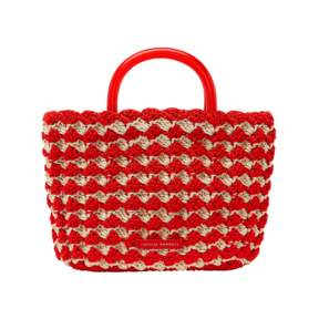 Loeffler Randall Audrey Crochet Tote