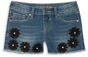 Vigoss Girl's Daisy Denim Shorts