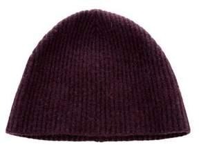 Marc Jacobs Cashmere Rib Knit Beanie