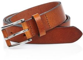 River Island Mens Light brown buffalo belt