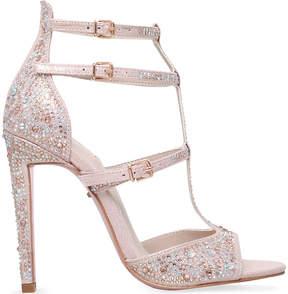 Carvela Gaye embellished-microsuede heeled sandals