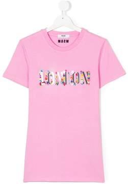 MSGM Teen London T-shirt