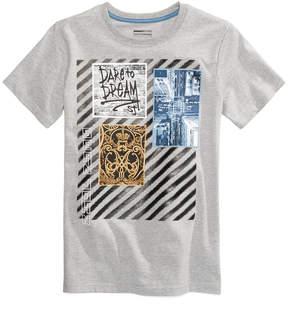 Sean John Dream Collage-Print T-Shirt, Big Boys