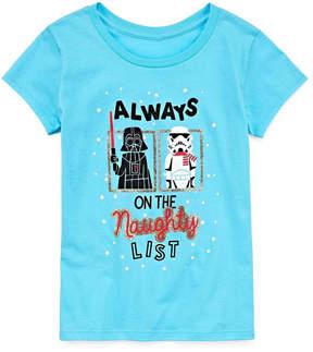 Star Wars STARWARS Holiday Graphic T-Shirt - Girls' 7-16