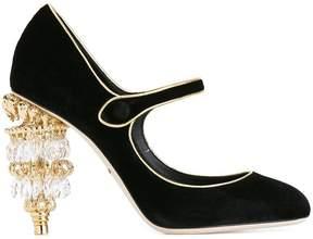 Dolce & Gabbana chandelier heel Mary Jane pumps