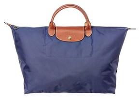 Longchamp Le Pliage Large Nylon Travel Bag. - NAVY - STYLE