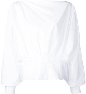 CHRISTOPHER ESBER Starr multi tuck blouse