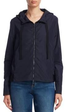Emporio Armani Zip Hood Grosgrain Jacket