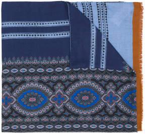 Etro printed pattern scarf