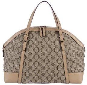 Gucci GG Supreme Nice Bag - BROWN - STYLE