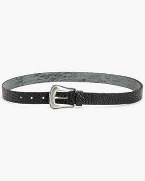 7 For All Mankind | Taos Leather Belt In Black | L