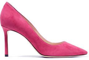 Jimmy Choo Romy 85 Suede Pumps - Pink