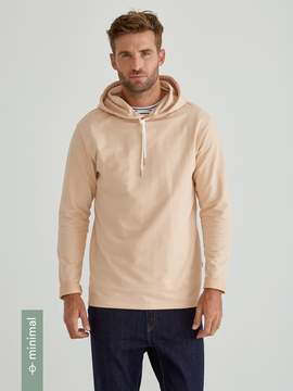Frank and Oak Organic French Terry Pullover Hoodie in Amberlight